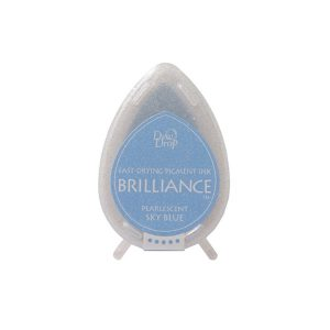 dew drop brilliance pearlescent sky blue