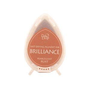 dew drop brilliance pearlescent rust