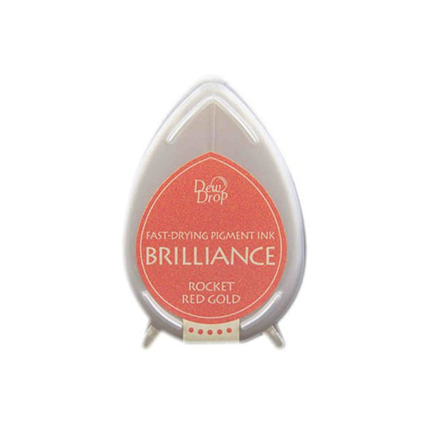dew drop brilliance rocket red gold