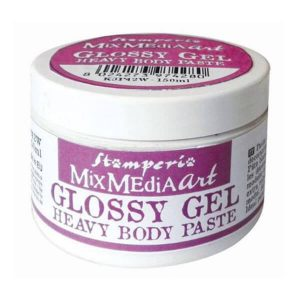 glossy gel heavy body paste