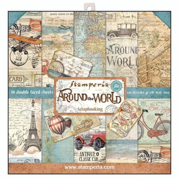 kit around the world stamperia