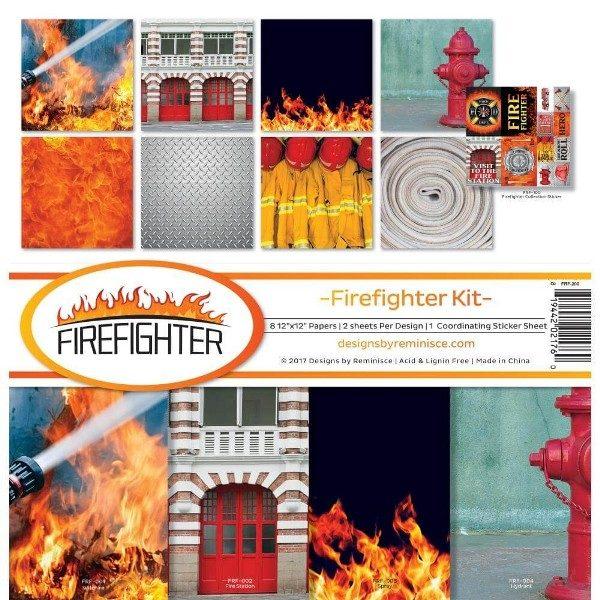 kit de papeles firefighter