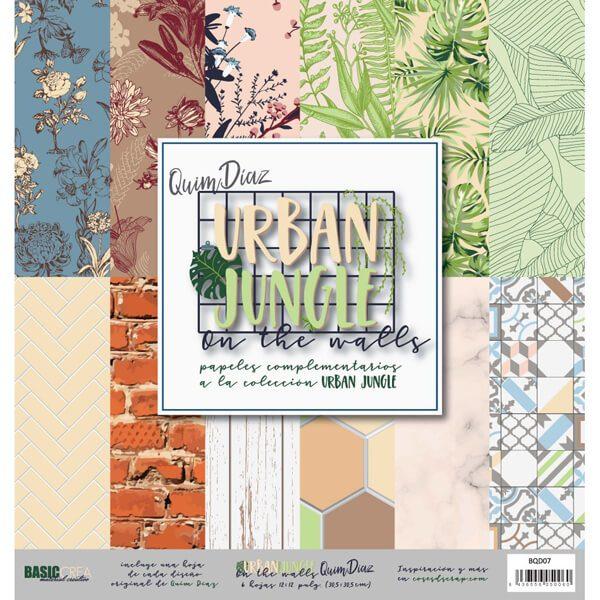 kit papeles urban jungle on the walls