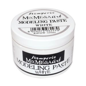 modeling paste color blanco