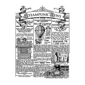 sello caucho steampunk news