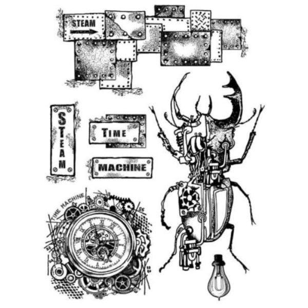 sellos caucho time machine