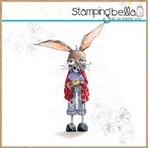 sello march hare stamping bella