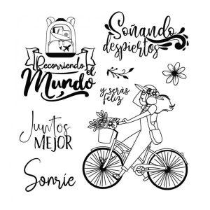 sellos bicicleta johanna rivero