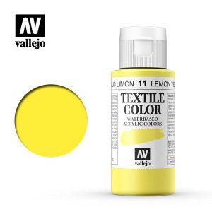 textile color vallejo amarillo limon 11