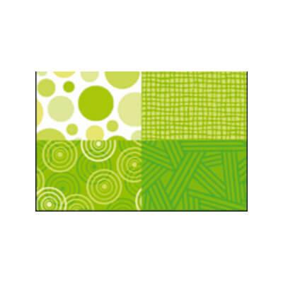 Panel Mingle verde lima detalle