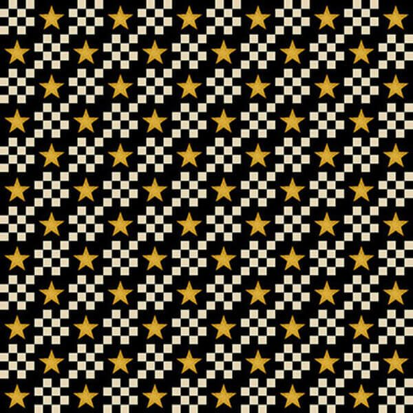 Patchwork fabric star