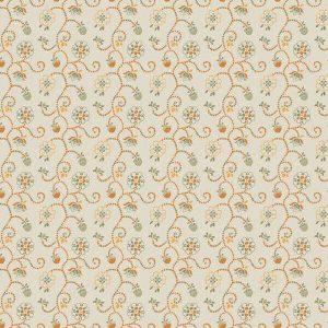 Tela guirnaldas flores Autumn Impressions de Camelot Fabric
