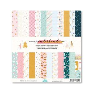kit papeles wonderland