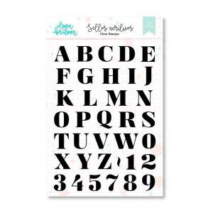 sellos alfabeto merry