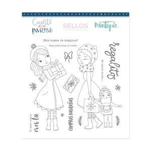 sellos compras navideñas