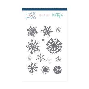 sellos acrilicos esta nevando