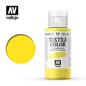 textile color vallejo amarillo 12