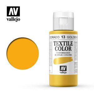 textile color vallejo amarillo dorado 13