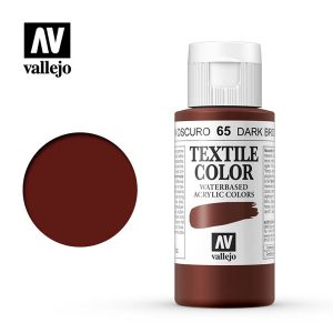 textile color vallejo marron oscuro 65