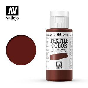 textile color vallejo marron oscuro 65