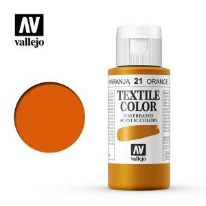 textile color vallejo naranja 21
