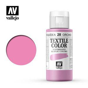 textile color vallejo orquidea 28