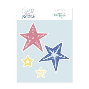 troqueles estrellas decoradas