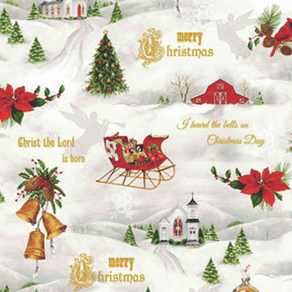 Tela Christmas-Chimes-detalle