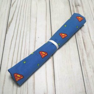 fat quarter superheroes superman