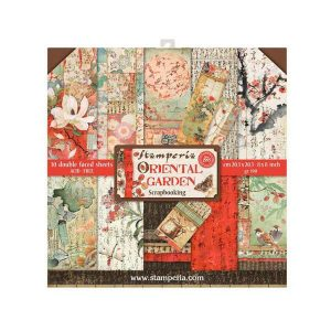 kit papeles oriental garden