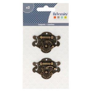 pack de cierres metalicos ornamentados