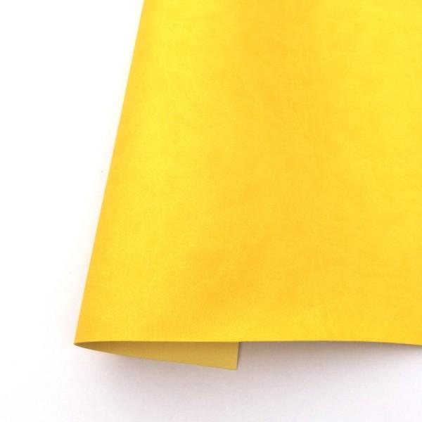 ecopiel mate color amarillo