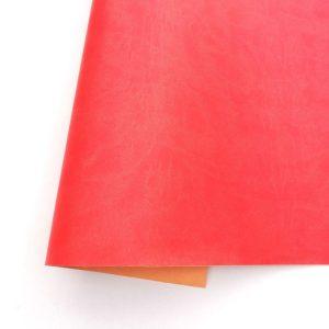 ecopiel mate rojo lava