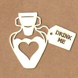 maderita pocion drink me