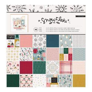 pad de papeles snowflake