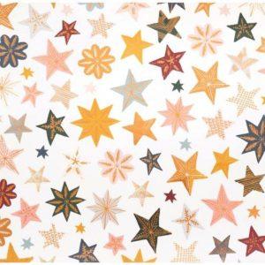 papel con foil snowflake