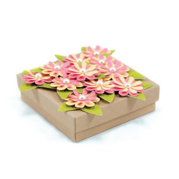 troqueladora grande flores y hojas
