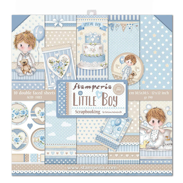 Kit de papeles Little Boy