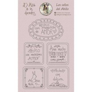 sellos hecho con amor