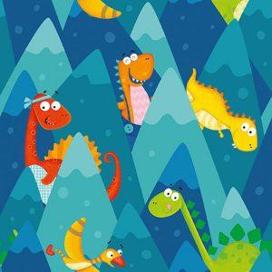 Tela-dinosaurios