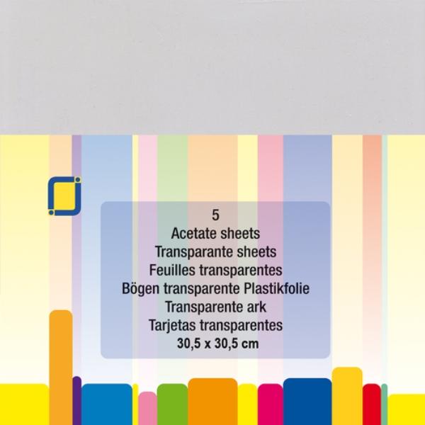 Acetato transparente 12x12