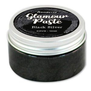 glamour paste black silver