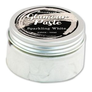 glamour paste sparkling white