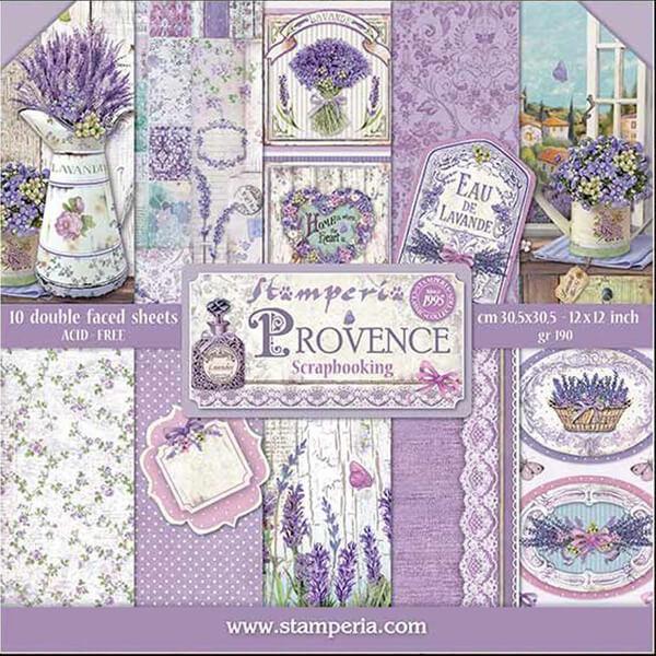 papeles Provence 12x12