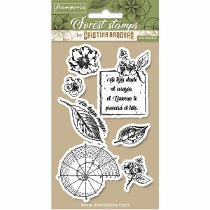 sellos de caucho botanical