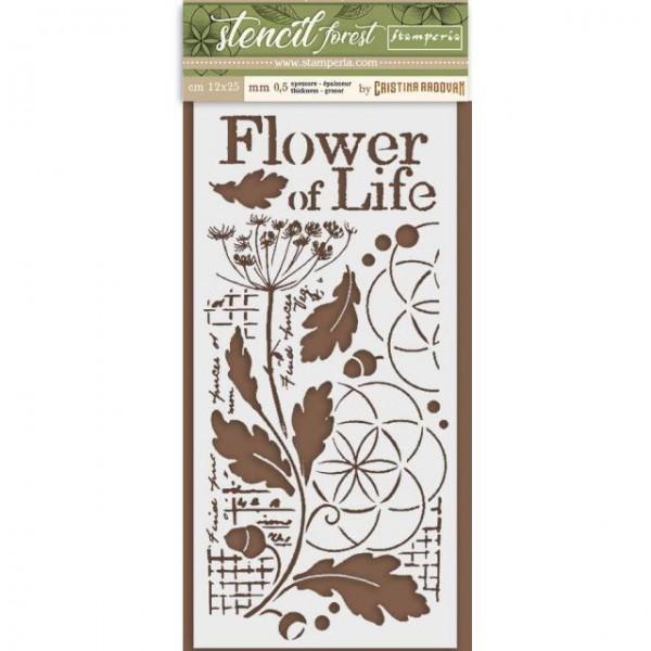 stencil flower of life