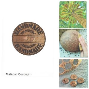 Boton coco Hand Made