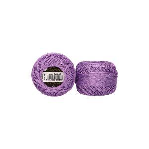 Perlé de algodón Domino 8 color 2109 lila