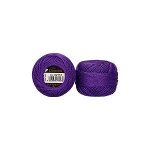 Perlé de algodón Domino 8 color 2112 morado