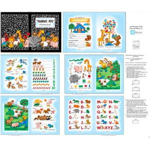 Panel libro infantil